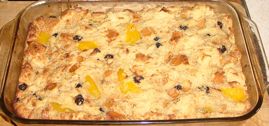 Bread Pudding (New Orlean's Style)