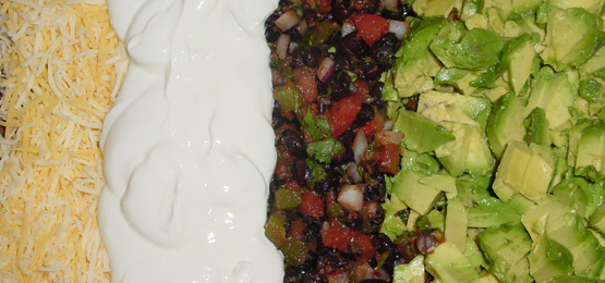 Vegetarian Black Bean Taco Salad